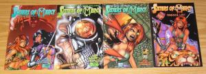 Sisters of Mercy: Paradise Lost #1-4 VF/NM complete series rikki rockett poison