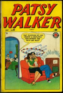 Patsy Walker #22 1949 MARVEL Kurtzman DeCarlo- Cindy- Jeanie VG