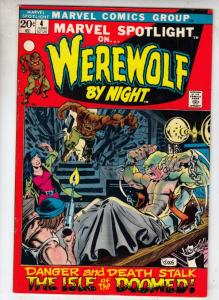 Marvel Spotlight on Werewolf by Night #4 (Jun-72) NM- High-Grade Werewolf
