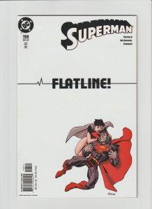 Superman 198 VF+ 8.5 (2003, DC) McDaniel Art!