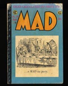Mad #15 GD- 1.8 Alice in Wonderland!