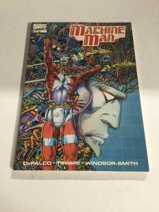 Machine Man Nm Near Mint Marvel Comics DeFalco SC TPB