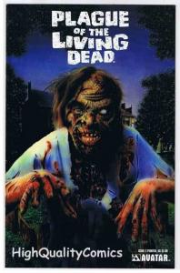 PLAGUE of the LIVING DEAD #2, NM+, Zombies,Painted, 2007, more Horror in store