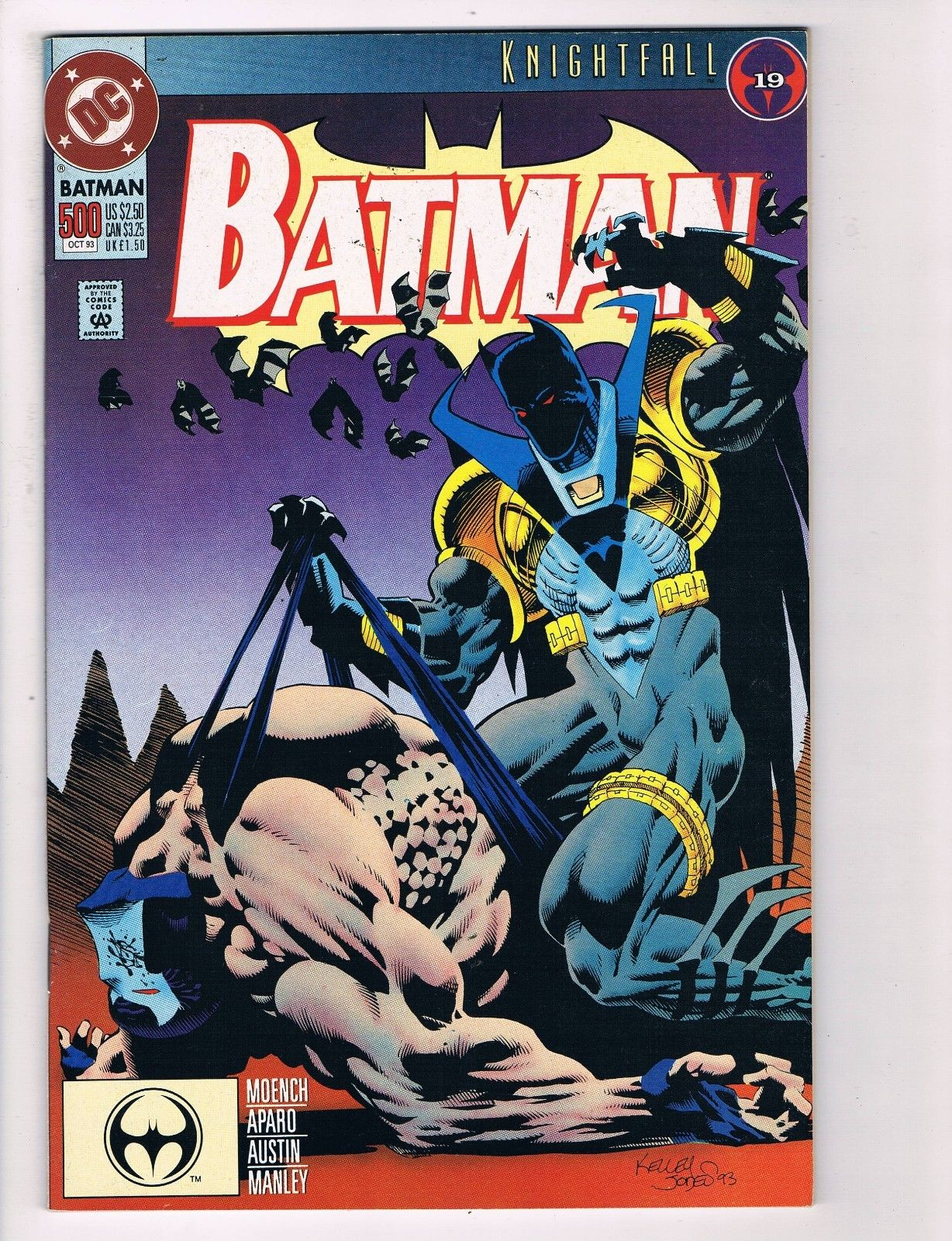 Batman  15 DC Comic Books Knightfall 15 Bane Robin Arkham Gotham ...