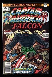 Captain America #204 VF/NM 9.0