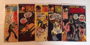 Son Of Tomahawk 131 132 133 134 146 VF Lot Set Run