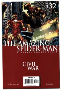 AMAZING SPIDER-MAN #532-Civil War avengers movie MCU
