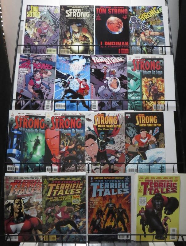 Tom Strong Collection of 38 comics Alan Moore ABC Terrific Adventure Tales
