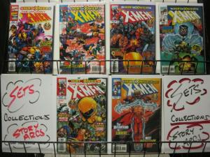 X MEN HUNT FOR XAVIER  6-Part Xover