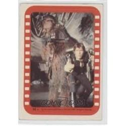 1977 Topps Star Wars Sticker THE STAR WARRIORS AIM FOR ACTION! #34 EX