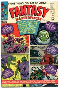 FANTASY MASTERPIECES #1, FN+, Jack Kirby, Don Heck, Steve Ditko, Dick Ayers,1966