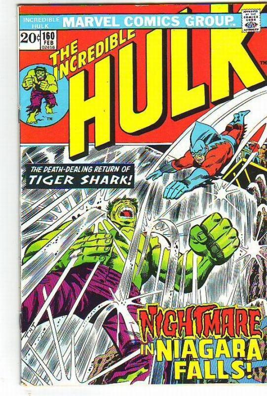 Incredible Hulk #160 (Feb-73) VF+ High-Grade Hulk