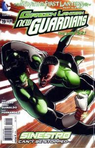 Green Lantern: New Guardians #19, NM (Stock photo)