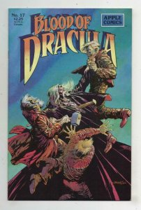BLOOD OF DRACULA #17, VF+, Vampire, Bernie Wrightson, 1987 1990, more  in store