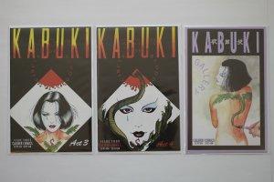 Kabuki Circle of Blood, Skin Deep, Masks of the Noh Agents Lot of 27 Caliber NM