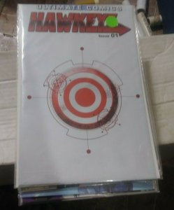 ultimate hawkeye # 1 2011 marvel  comics pollybagged