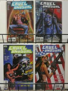 CRUEL AND UNUSUAL (1999 VERTIGO) 1-4 Low Morals, High