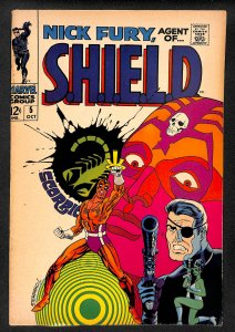Nick Fury, Agent of SHIELD #5 (1968)