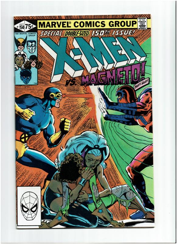 X-Men #150, 9.4 or Better (Signed by Claremont, Wiacek, Cockrum and Jones)