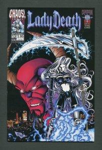 Lady Death #13 (Inferno)  /  9.6 NM - 9.8 NM-MT  /  February  1999