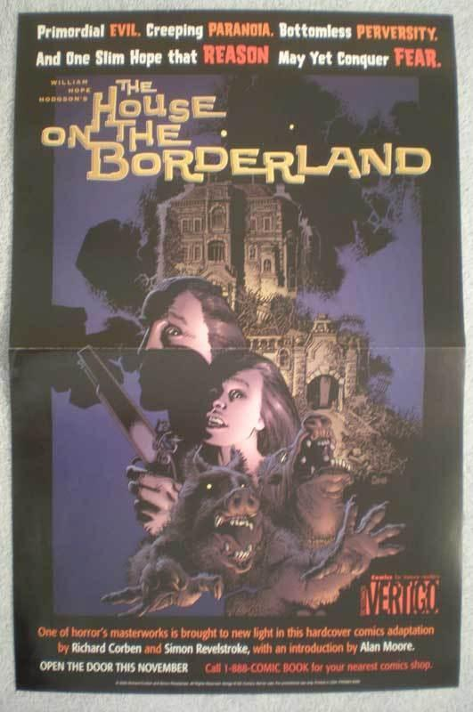 HOUSE on the BORDERLAND Promo poster, Richard Corben, more in our store