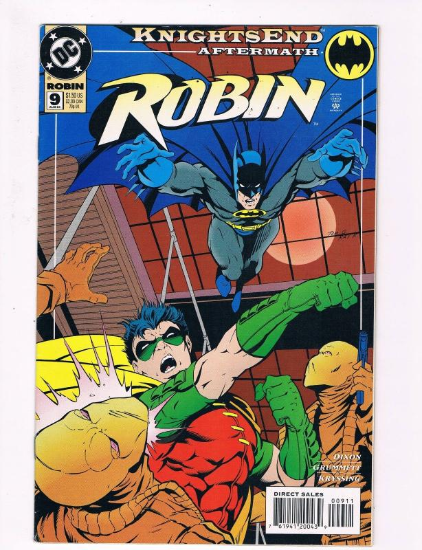 Robin # 9 DC Comic Books Hi-Res Scans Batman Awesome Issue Modern Age WOW!!!! S8