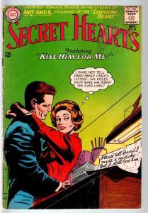 SECRET HEARTS #98-1964-KISS HIM FOR ME-DC ROMANCE-G G