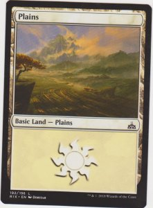 Magic the Gathering: Land - Plains