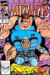 New Mutants (1983 series) #88, NM- (Stock photo)