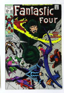 Fantastic Four (1961 series) #83, VF- (Actual scan)
