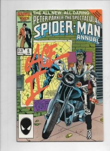 Peter Parker SPECTACULAR SPIDER-MAN #6 Annual, VF, 1976 1986 more in store