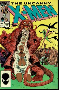 X-Men #187 - NM - 1st Appearance of Naze