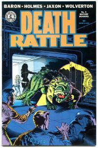DEATH RATTLE #5, VF/NM, Jaxon, Wolverton, Baron, Holmes, Kitchen Sink, 1986