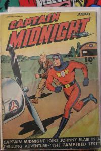 Captain Midnight #36 (Jan-46) VG Affordable-Grade Captian Midnight
