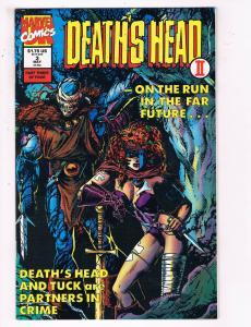 Death's Head 2 #3 VF Marvel Comics Comic Book X-Men May 1992 DE24