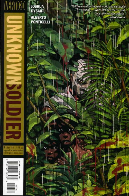 Unknown Soldier (4th Series) #4 FN; DC/Vertigo | save on shipping - details insi