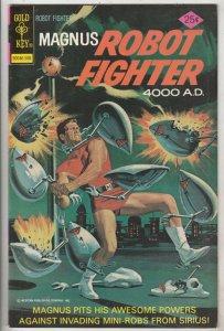 Magnus Robot Fighter #40 (Aug-75) NM- High-Grade Magnus