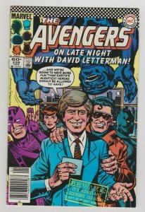 AVENGERS #239 ON LATE NIGHT WITH DAVID LETTERMAN! 1984 MARVEL COMICS