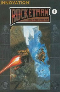 Rocketman: King of the Rocket Men #4 VF/NM; Innovation | save on shipping - deta