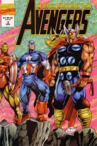 Official Marvel Index to the Avengers (1994 series) #3, NM (Stock photo)