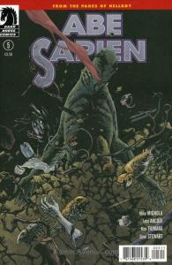 Abe Sapien: Dark and Terrible #5 VF/NM; Dark Horse | save on shipping - details