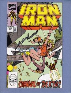 Iron Man #253 NM-/NM Marvel 1990