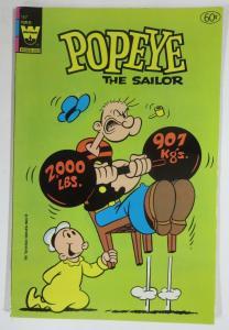 POPEYE (1941-1984) 167 VG Whitman Edition COMICS BOOK