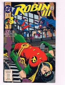 Robin 3 #6 VF DC Comics Comic Book Dixon Batman Joker DE19