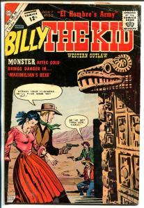 Billy The Kid #35 1962-Charlton-western thrills-Aztec Gold-VG-