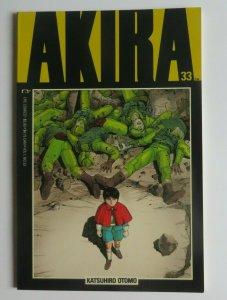 Akira #33 VF+ 1st Print Epic Comics Katsuhiro Otomo 1992 Rare HTF Manga Anime