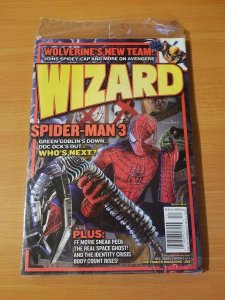 Wizard Magazine #158 ~ NEAR MINT NM ~ December 2004 Seal in Poly Bag