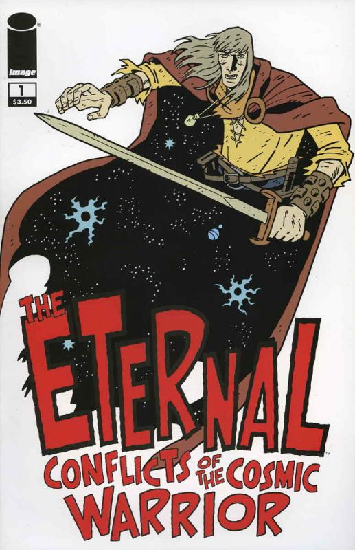 Eternal Conflicts of the Cosmic Warrior, The #1 VF/NM; Image | save on shipping