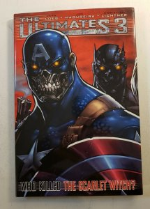THE ULTIMTES 3: WHO KILLED SCARLET WITCH? HARD COVER GRAPHIC NOVEL NM