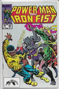 Power Man and Iron Fist   vol. 1   # 99 VF